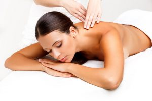 back massages at top Canterbury hair & beauty salon
