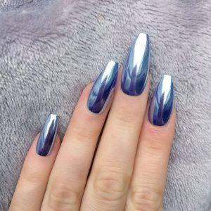 chrome nail trends, canterbury beauty salon