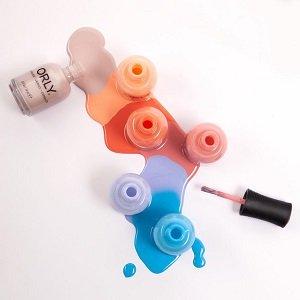 ORLY nail polishes at Blakes Canterbury Beauty salon