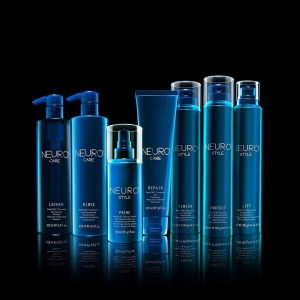 Paul Mitchell Neuro hair care products for heat protection at Blakes Hairdressers in Canterbury