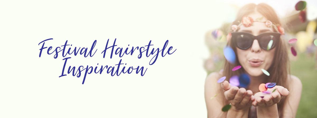 Festival Hairstyle Inspiration at Blakes Hair Salon Canterbury