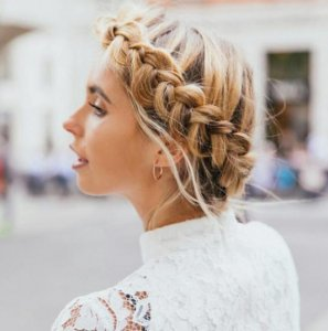 Braids and plaited styles at Canterbury Hair salon Blakes