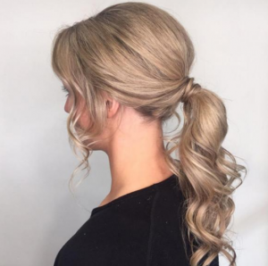 Pony Tail Hair Styles at Blakes Canterbury Salon