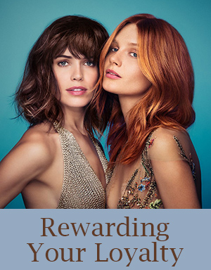 Loyalty point scheme Canterbury Hair Salon