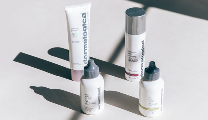 chemical and physical SPF Dermalogica at Blakes Canterbury Beauty Salon