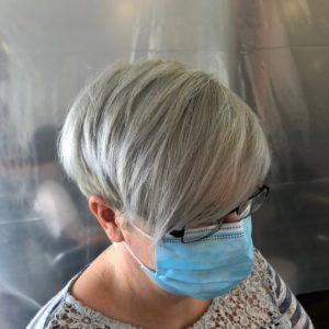 Grey hair at Blakes