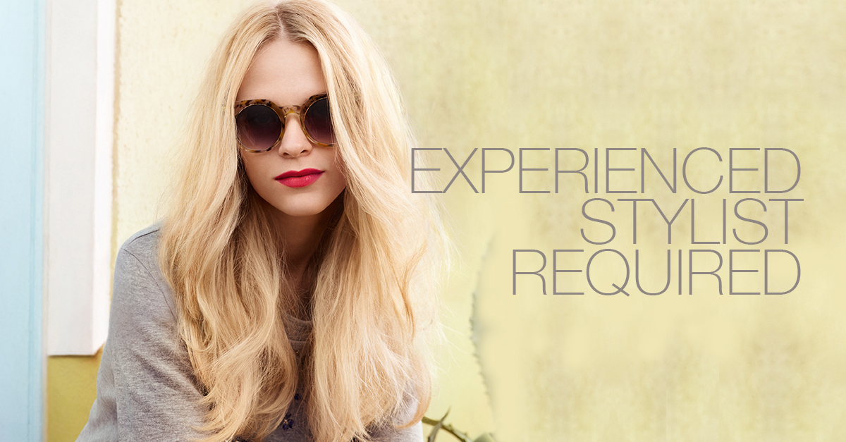 EXPERIENCED Hair STYLIST REQUIRED Canterbury Kent