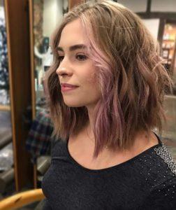 Lob hairstyles Blakes Canterbury salon