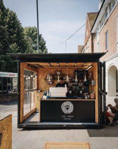 Lost Sheep Canterbury coffe stall