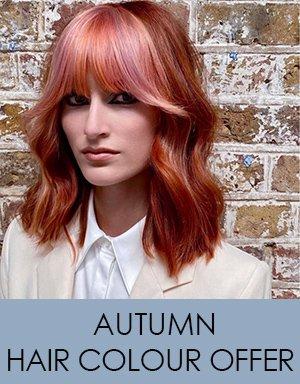 Autumn Hair Colour Offer