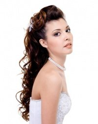 Long and Curly Wedding Hair Canterbury Salon